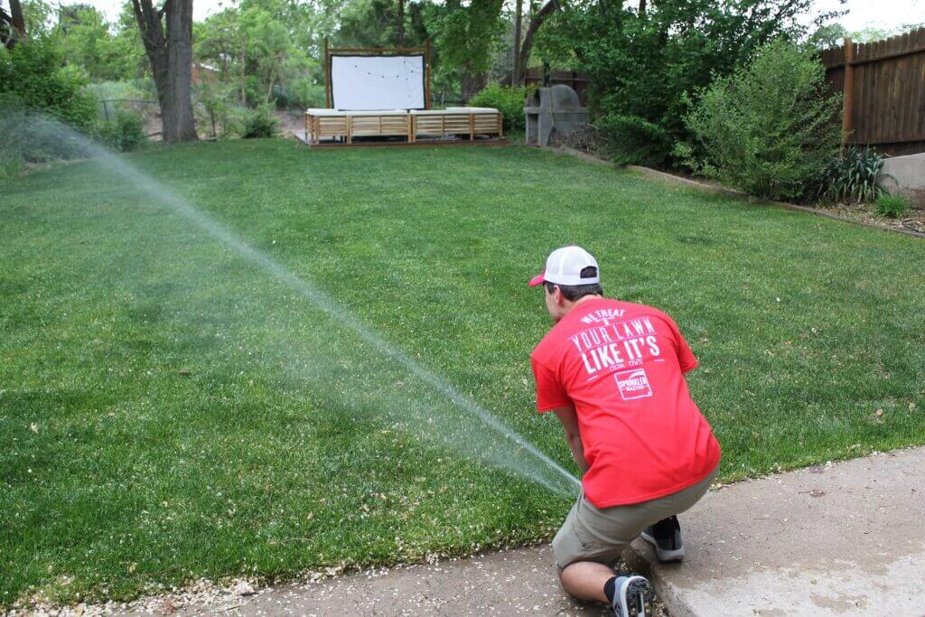 sprinkler master